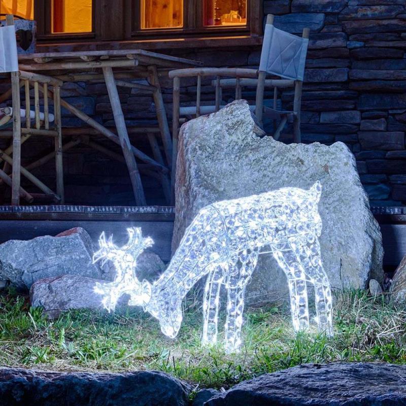 Figure luminose natalizie