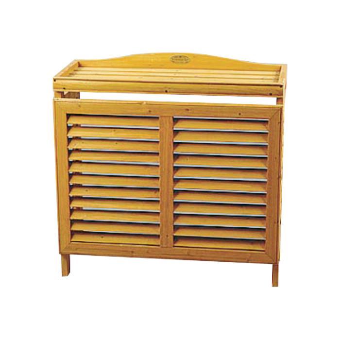 Mobiletto in legno per unità esterna